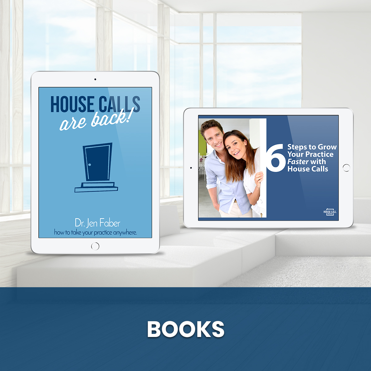 Books - Blue